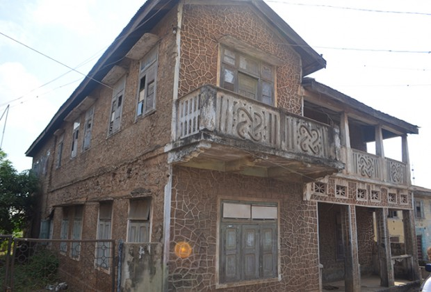 The house that Fela grew up in, Abeokuta